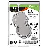 SeagateST1000LXZ15 FireCuda 1 TB, SSHD intern Festplatte (6, 35 cm (2, 5 Zoll), 7 mm dünn, SATA 6 Gb/s, silber, FFP (Frustfreie Verpackung))