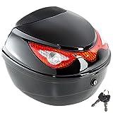 TecTake Motorradkoffer Topcase Roller   -Verschiedene Größen- (Typ 1   no. 401630)