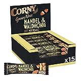 Corny Ganze Nuss Mandel & Waldhonig mit Meersalz, Nussriegel, 15er Prack (15 x 40g)