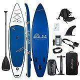 BATURU aufblasbares SUP Board, Stand-up Paddle Board, Sup Paddleboard 350 x 81 x 15 cm,iSUP Paket mit allem Zubehör