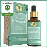45% Terpinen-4-ol TeeBaumöl - Australisches Ätherisches/Tea Tree Oil - Original Melaleuca alternifolia - Rein & Natürlich. 50 ML Glasflasche.