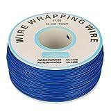 Drahtwickel Kabel 30AWG Single Kupferkabel Litze 0,25 mm 305 Meter Kerndurchmesser Schwarz Blau Gelb(blau)