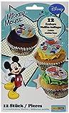 Dekoback Essbare Zucker-Muffinaufleger Mickey Mouse, 1er Pack (1 x 42 g)
