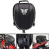 Motorrad-Hecktasche - Wasserdichte Gepäcktasche Sitztasche Motorrad-Satteltaschen Multifunktionale Fahrradtasche Sportrucksack-Weiß