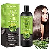 Teebaumöl Shampoo,Anti Dandruff Shampoo,Tea Tree Shampoo,Anti Schuppen Shampoo,Shampoo Juckende Kopfhaut für Schuppen Fettige Juckende Kopfhaut Pflege