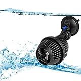 YAOBLUESEA Umwälzpumpe,Wave Maker Wellenpumpe Aquarium Strömungspumpe Mit Magnet Iron (2500L/H)