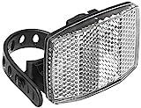FISCHER Erwachsene Front Vorbaubefestigung Reflektor schwarz, One Size
