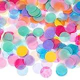 Outus 1 Zoll Mehrfarbig Runde Tissue Konfetti , 10000 Stück