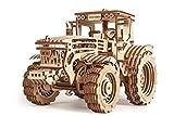 Wood Trick - Traktor 3D mechanische Modell aus Holz - Holzbausatz -Brain Teaser, Best DIY Spielzeug, IQ Spiel für Jugendliche und Erwachsene