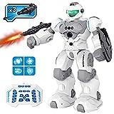 Pickwoo Kinderspielzeug Ferngesteuerte Roboter, 2,4 Ghz RC Fernbedienung Roboter für Kinder Intelligent Programmierbar Gestenerkennung Tanzen Singen Gehen RC Spielzeug Geschenk für Jungen und Mädchen