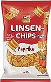 XOX Gebäck Linsenchips Paprika, 14er Pack (14 x 90 g)