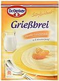 Dr. Oetker Süße Mahlzeit Griessbrei Vanille (1 x 90g Packung)