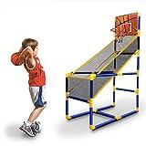 BXWQPP Einfach Installieren Kunststoff Outdoor und Indoor Basketballkorb mit Ständer Mobil Basketballständer Kinder im Basketballanlage Korbanlage Stabile und Verstellbare Höhe