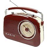 König Electronic HAV-TR710BR Retro Radio Radiorekorder