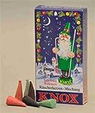 Knox Räucherkerzen Weihnachtsmischung 24 Stück/Pkg. Tanne-Weihrauch-Sandel