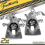2x Bremssattel Bremszange Hinterachse Links Rechts für Astra G F67 F35_ F48, F08_ F70 F69_ Meriva 2001-2010