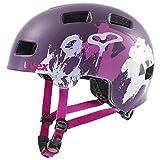 Uvex Unisex Jugend, hlmt 4 cc Fahrradhelm, purple matt, 55-58 cm