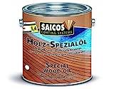 Saicos Colour GmbH 500 0110 Holzspezialöl, farblos, 2,5 Liter