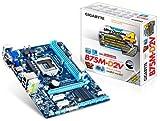 Gigabyte GA-B75M-D2V Mainboard Sockel LGA 1155 (Micro-ATX, Intel B75, 2X DDR3 Speicher, SATA III, DVI-D, D-Sub, 2X USB 3.0)
