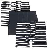 Name IT NOS Jungen NKMTIGHTS 3P Dress Blues NOOS Boxershorts, Mehrfarbig (Dark Sapphire), 134/140 (Herstellergröße: 134-140) (per of 3)