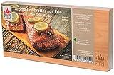 Masterpiece 'select'- 2 Aroma Grillbretter Erle - 15mm starke Grillplanke Premium Qualität, Set à 2 Stk, Maße 145 x 295mm, BBQ Räucherbretter Erle