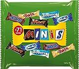 Mixed Schokoriegel | Minis | 71 Riegel in einer Packung (1 x 1,425 kg)