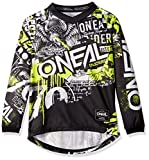 ELEMENT Youth Jersey ATTACK black/hi-viz M