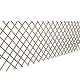 Festnight 5 Stücke Rankgitter aus Weide Spalier Rankhilfe Pflanzengitter 90 x 180 cm als Sichtschutz oder Dekoration