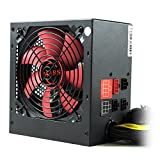 Mars Gaming  MPII750 - Netzteil gaming für PC (750W, ATX, die für die Spieler, Antivibrationssystem , aktive PFC, 12 V), rot und schwarz