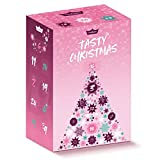 GYMQUEEN Fitness Adventskalender Tasty Christmas 2020 | mit exklusiven Tasty Drops und Protein-Riegeln in Originalgröße | Kalorienfreie, Zuckerfreie und Fettfreie Flavour Drops und High Protein Riegel