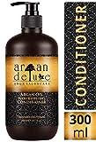 Argan Deluxe Conditioner in Friseur-Qualität 300 ml - stark pflegend mit Arganöl für Geschmeidigkeit und Glanz