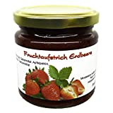 Xylit Fruchtaufstrich 'Erdbeere' ohne Zuckerzusatz, nur mit Xylit gesüßt, 70% Fruchtanteil (mehr als Marmeladen), Low Carb, 200 g