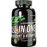 ZEC+ ALL in ONE Antioxidant & Vitaminen 120 Kapseln, Multivitamin-Präparat mit Antioxidantien, mit Mineralien, Spurenelemente, Traubenkernextrakt, Alpha-Liponsäure, Resveratrol
