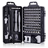 Warxin Schraubendreher Set Feinmechanik, 126 in 1 Magnetisches Mini Feinmechaniker Set, Tragbar Torx Bit Präzision Schraubendreher Set für iPhone, Laptop, Tablet, Uhren, Kamera, Elektronik Set