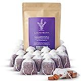 Lavendas 10 x Lavendelsäckchen & Zedernholz Set | Duft für Kleiderschrank | zum Einschlafen | zur Entspannung | Natürlicher Mottenschutz | gegen Kleidermotten | Duftsäckchen 120g franz. Lavendelblüten