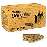 PURINA DENTALIFE Medium Hunde-Zahnpflege-Snacks reduziert Zahnsteinbildung, Huhn, mittelgroße Hunde, 84 Sticks