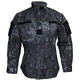Mil-Tec US Field Jacket ACU/RS mandra Night - mandra Night, L