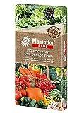 HaGaFe Plantaflor Plus Bio Hochbeeterde Gemüseerde Erde torfreduziert 40 Liter (1 x 40 L)