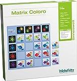 HABA 131.965 Lernspielzeug Matrix Wehrfritz Farbeo, Speicherkartenspiel für Kinder, Wahrnehmung & Kognition, für Kinder