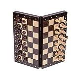 Square - Schach Schachspiel - MAGNETISCHE - Classic - Schachfiguren & Schachbrett aus Holz