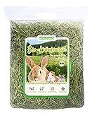 Heu-Heinrich® 4 x 1kg Bio - Bergwiesen - Kräuterheu aus dem Naturpark Thüringer Wald für Kaninchen Meerschweinchen Nager