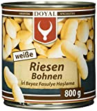 Doyal Weiße Riesenbohnen, in Lake vorgekocht, 12er Pack (12 x 800 g)
