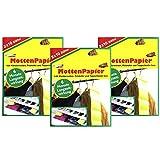 com-four® 60x Mottenpapier für den Kleiderschrank - Mottenfalle gegen Kleidermotten - Mottenstopp zum Aufhängen (60 Blatt - Mottenpapier)