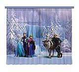 Gardine/Vorhang FCS xl 4303 Disney, Frozen, 180 x 160 cm, 2-teilig'