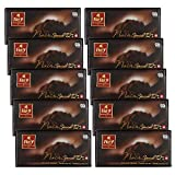 Frey 10x Noir Special 72% Edelbitter-Schokolade - Original Schweizer extra dunkle Schokolade Tafel - Großpackung 10x Schokoladentafeln 100 g - UTZ-zertifiziert - Premium