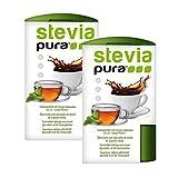 steviapura   Stevia Tabs 2x300 Stück Stevia Tabletten im Dosierspender 600 Stück - Sparpreis