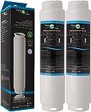 2x FilterLogic FFL-110B Wasserfilter ersetzen UltraClarity 00740560, 740560/644845 Filter für BOSCH SIEMENS NEFF GAGGENAU MIELE HAIER Kühlschränke - Ultra Clarity 9000733786, VIB-Z4500W0