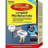 Aeroxon - Anti Mücken-Stecker - Perfekt geeignet zur Abwehr von Stechmücken/Gelsen, Tigermücken, Fliegen und Motten - Nachfüllflaschen erhältlich