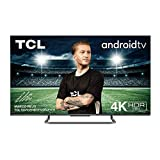 TCL 55P815 Fernseher 139.7 cm (55 Zoll) Smart TV (4K UHD , Micro dimming Pro, Motion Clarity Pro, Dolby Vision & Atmos, Android TV, Alexa und Google Assistant) Schwarz [Modelljahr 2020]