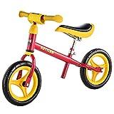 Kettler Laufrad Speedy 2.0 – das verstellbare Lauflernrad – Kinderlaufrad mit Reifengröße: 10 Zoll – stabiles & sicheres Laufrad ab 2 Jahren – rot & gelb